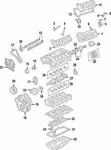 Engine For 2005 Cadillac Srx  Base