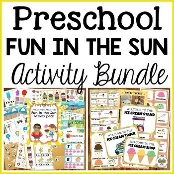 Fun in the Sun Preschool Dramatic Play and Activities ...