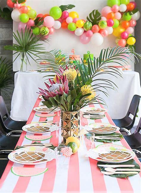 25+ Best Ideas About Tropical Theme Parties On Pinterest