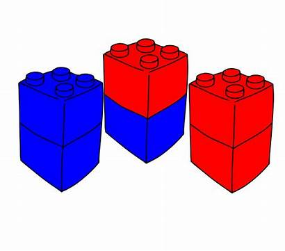 Lego Clip Clipart Brick Blocks Block Stack