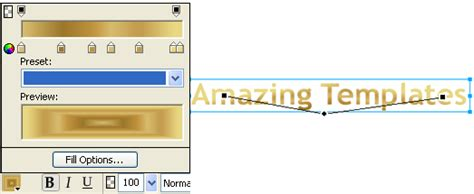 gold color code in ms paint fireworks text effects metallic gold effect tutorial
