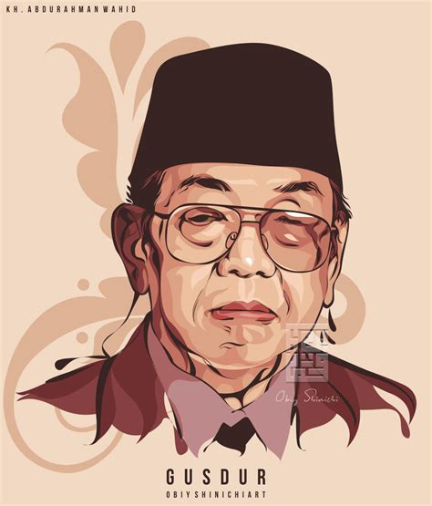 New Wpap Gusdur 7 president in vector 7 presiden indonesia by obiy