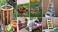 diy garden ideas 120 Cheap and Easy DIY Garden Ideas - YouTube