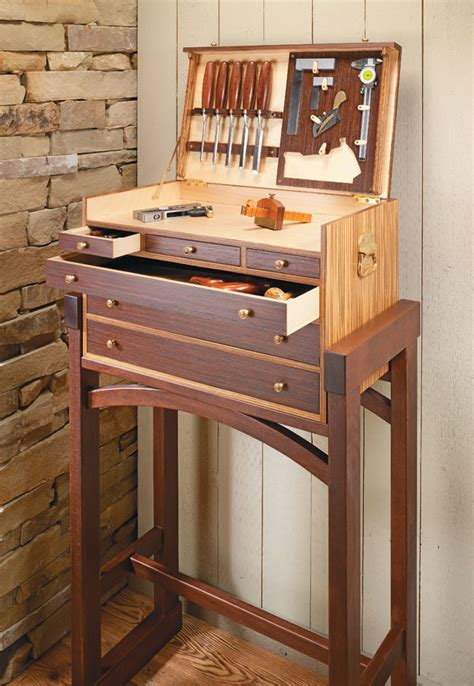 heirloom tool chest woodworking project woodsmith plans
