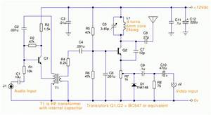 Simple Tv Transmitter Circuit
