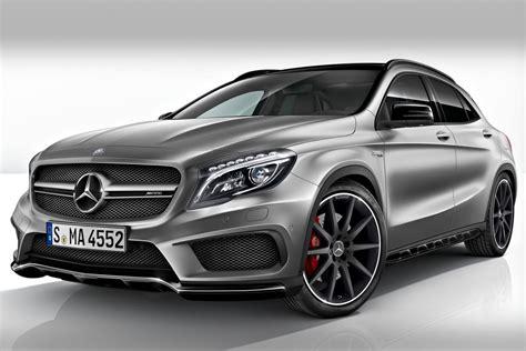 Mercedes benz gla45 amg 4matic recaro pan roof. MERCEDES GLA 45 AMG AU SALON DE DETROIT 2014