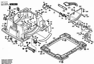 Bosch Table Saw Parts