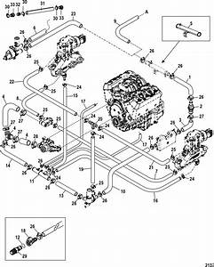 Mercruiser 5 0 Engine Diagram Mercruiser 4 3l Engine