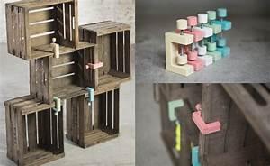 Cd Regal Aus Weinkisten : mobel aus kisten holz alle ideen ber home design ~ Michelbontemps.com Haus und Dekorationen