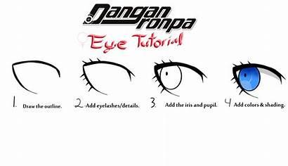 Danganronpa Eye Tutorial Female Drawings Drawing Deviantart