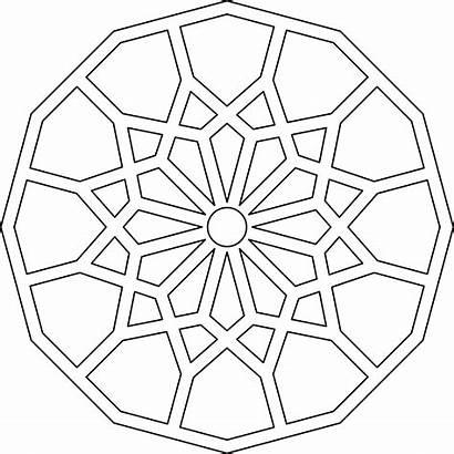 Geometric Islamic Patterns Pattern Line Architecture Angle