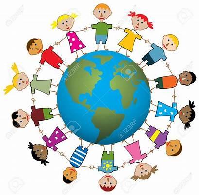 Globe Around Children Clip Clipart Clipartpanda Terms