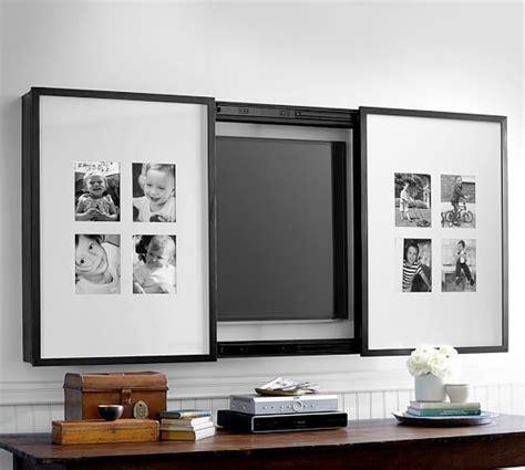Pottery Barn Living Room Ideas Pinterest by Best 25 Frame Tv Ideas On Pinterest Expensive Tv Home