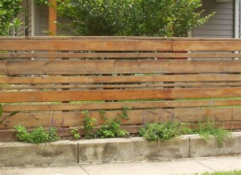 Best 25+ Horizontal Fence Ideas On Pinterest
