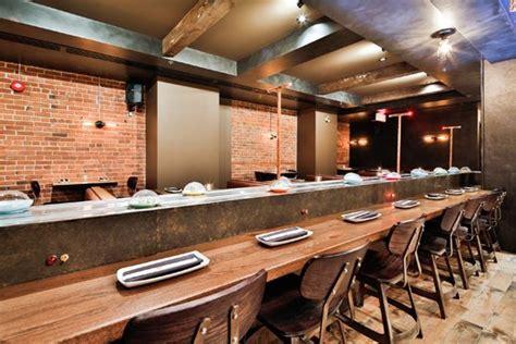 restaurant japonais tapis roulant kyozon le restaurant o 249 retrouver l authentique tapis roulant 224 sushis