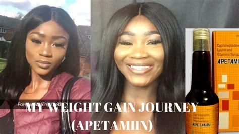 My Weight Gain Journey Using
