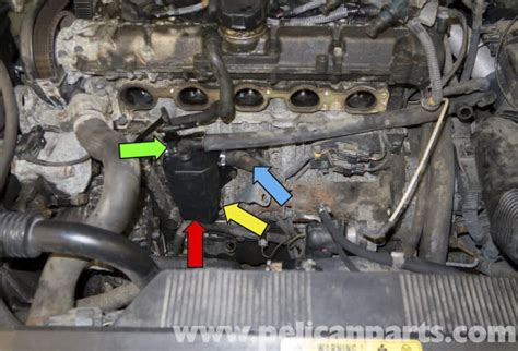 volvo  crankcase breather replacement