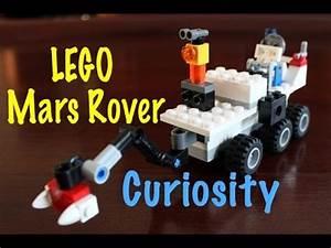 LEGO MOC: How to Build a Mars Curiosity Rover - YouTube