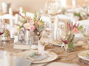 Decoration De Table De Mariage : deco pour table de mariage le mariage ~ Melissatoandfro.com Idées de Décoration