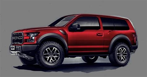 ford bronco redesign  ford bronco redesign