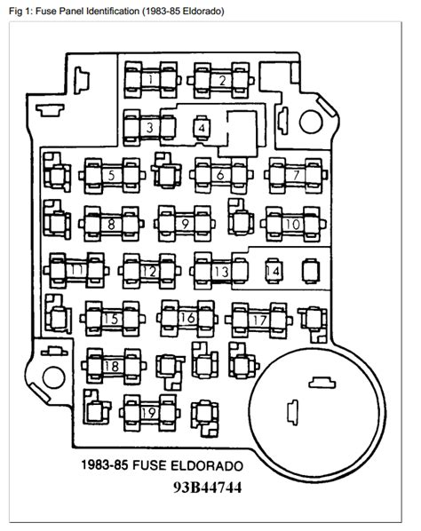 85 Cadillac Wiring Diagram by Wiring Diagrams