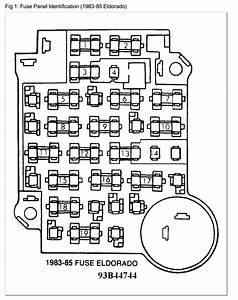 1991 Cadillac Brougham Fuse Box Diagram