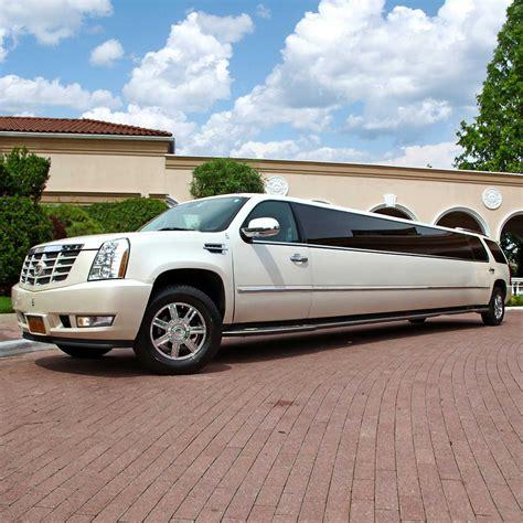 cadillac escalade 2017 pearl white pearl white cadillac escalade limo platinum plus limousines
