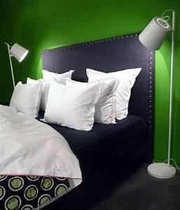 Tete De Lit Cloutée : t te de lit originale d co pas cher c t maison ~ Teatrodelosmanantiales.com Idées de Décoration