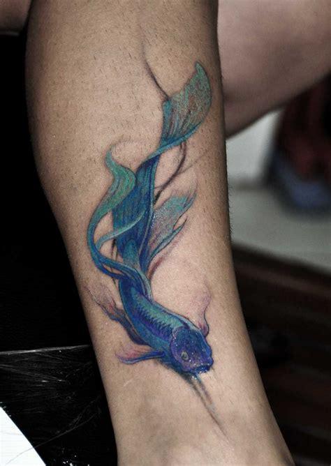 watercolor tattoos fish ideas yo tattoo
