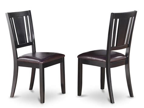 set   dudley dinette kitchen dining chairs  leather
