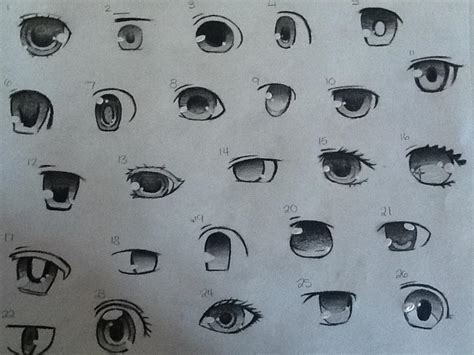 Anime Eyes Ii By Mikalincow On Deviantart