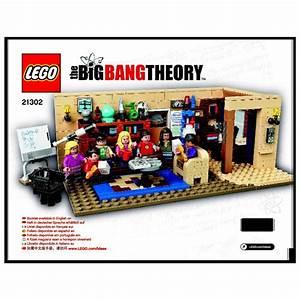 Lego The Big Bang Theory Set 21302 Instructions