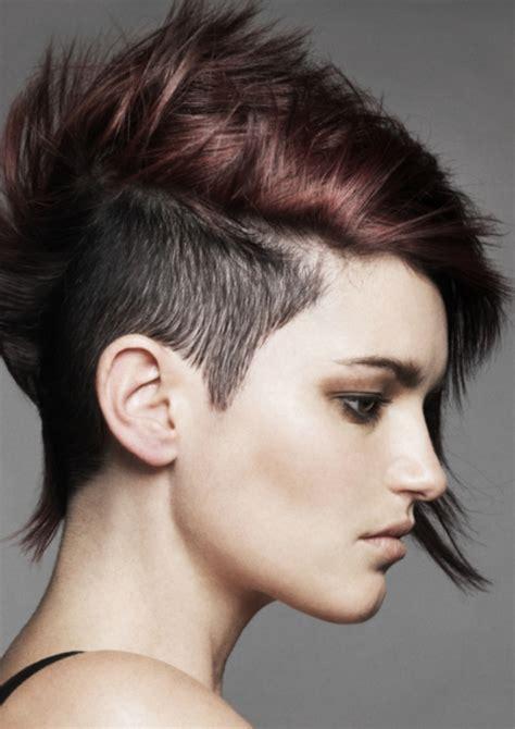 Kurze haare sidecut Kurze Haare