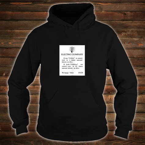Jun 08, 2021 · despite its high rates and their opportunity to help struggling virginians navigate inflated electric bills soon to be in the top 5 highest in america, dominion instead turned in the smallest. Official Monopoly Electric Company Card Shirt, hoodie, tank top and sweater