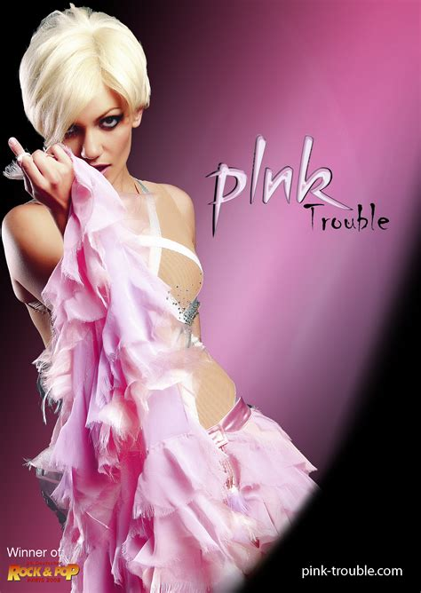 In Pink by Pink Trouble Europe S Most Wanted P Nk Tribute Show