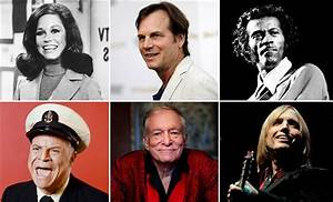 Celebrity deaths in 2017: Looking back at the famous ...
