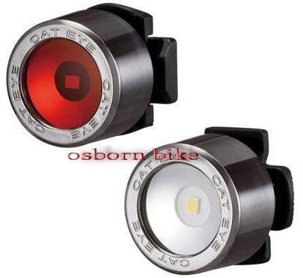 jual lu cateye nima front rear led light set sl ld 130 di lapak bonny osborn osborn