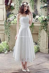robe de mariee dentelle bustier champetre With robe de mariée mi longue