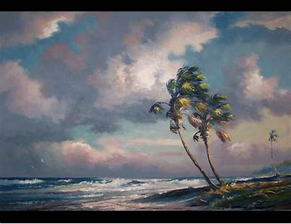 Florida Highwaymen Paintings Landscape Artists Newton Harold