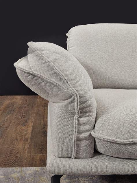 canapé 4 places tissu canapé angle 4 places tissu gris clair contemplation tm