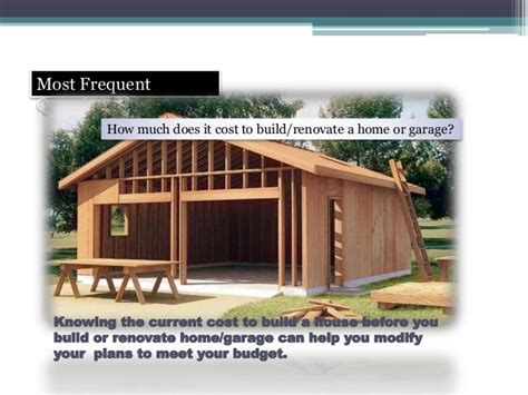 How Much To Build A Brick Shed. How To Estimate Garage
