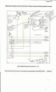 Steering Wheel Radio Controls 1988 Gta