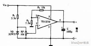 using tda2030 as dc power supply circuit diagram power With tda2030 diagram