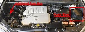 Fuse Box Diagram  U0026gt  Toyota Highlander  Xu40  2008