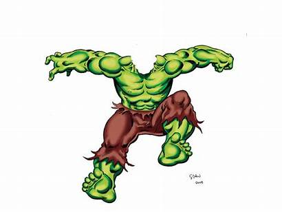 Hulk Incredible Clip Clipart Vector Cliparts Library