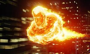Human Torch HD Wallpaper For Your Desktop