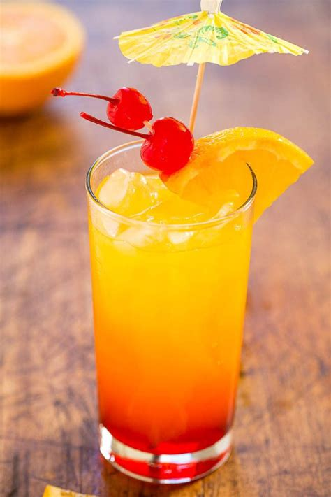 Tequila Sunrise  The Classic Cocktail That Never Goes Out