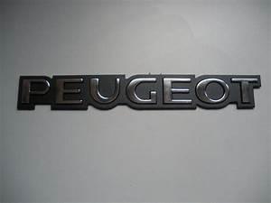Monogramme Peugeot : monogramme peugeot brilllant 230x30mm nrpiecesauto ~ Dode.kayakingforconservation.com Idées de Décoration