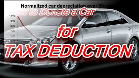 Give Car To Charity Tax Deduction - donate car tax deduction donate car for tax credit