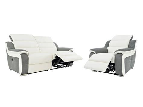 canapé microfibre avis canapé et fauteuil relax électrique bimatière arena ii